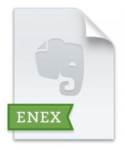 Evernote バックアップファイルアイコン画像